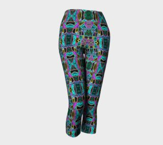 Peace Stained Glass Capris preview