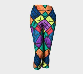 SW Detroit Stained Glass Capris III preview