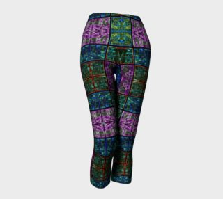 Amethyst Stained Glass Capris preview