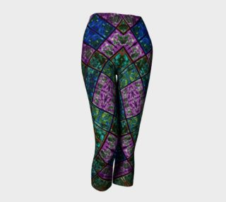 Amethyst Stained Glass Capris IV preview