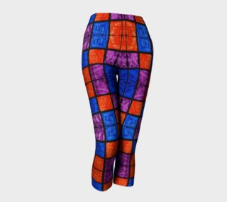 Checkerboard Mosaic Capris preview