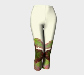 Autumn Leaves Cream Capris preview