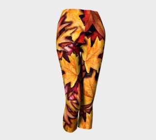 Fall leaves Capris preview