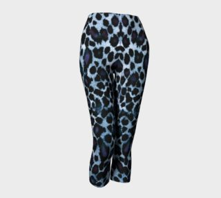 Blue Leopard Capris preview