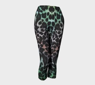 Earth Toned Leopard Capris preview