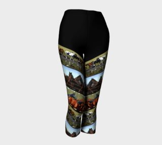 Capris Horses Diagonals preview