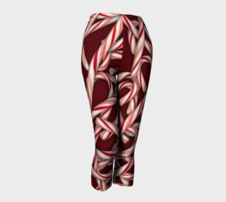 Candy cane Pattern Capris preview