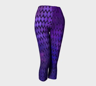 Purple Dragon Scales Capris preview