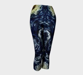 Comet Dragon Starry Night Celestial Capris preview