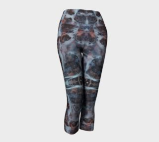Marble Cross Medallion - Gray Capris preview