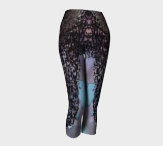 Abstract Black Lace Sexy Capris  preview