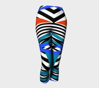 bright zebra capris preview