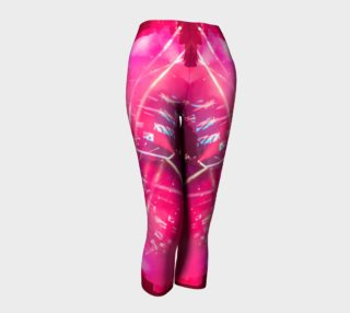 Hot Pink Capri Leggings aperçu