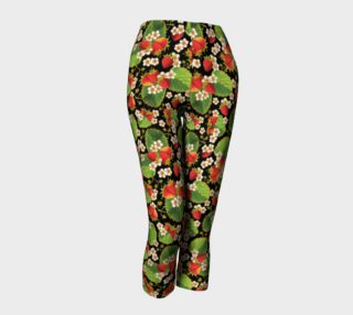 Strawberries on Black Capris preview