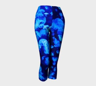Blue Jellyfish capris preview