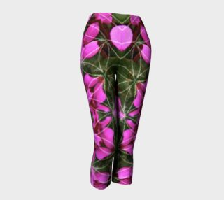 Spring Heart Mandala Capris preview