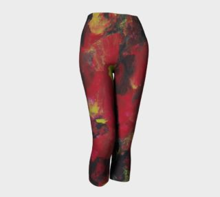Midnight Blooms Capris preview