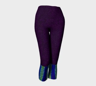 Color Dance Matching Capris Leggings preview
