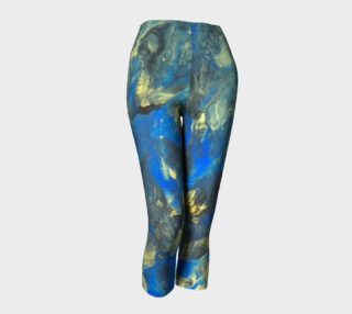 Flowers in the Sky Capris preview