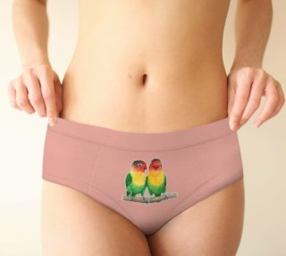 Fischer's lovebirds Cheeky Brief preview