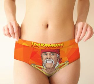HULKAMANIA - Women's Briefs - WWF - HULK Hogan preview