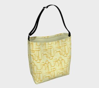 Mid Century Modern Yellow Daybag preview