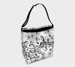 Garden Symphony Tote Bag preview