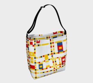 Aperçu de Mondrian Abstract Art Broadway