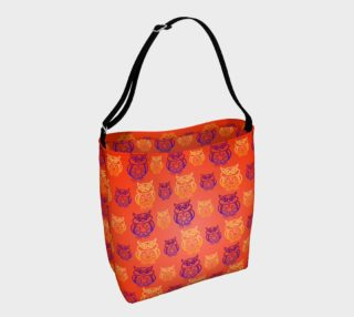 Owl Design Orange   preview