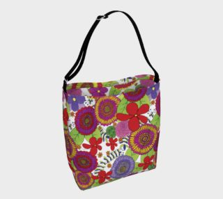 Bright & Cheery Floral Design Day Tote preview