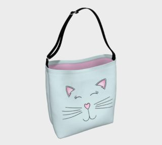 Pretty Kitty Tote Bag preview