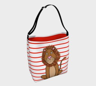 Leo the Lion Tote Bag preview