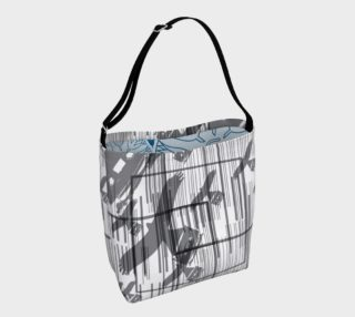Aperçu de birds of grey day bag