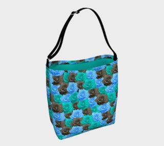 Blue Roses Tote Bag preview