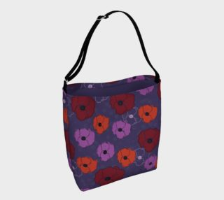 Poppies Day Tote preview