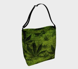 Grunge Marijuana Pot Leaf Design preview