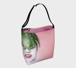 GABA Pink Melon Tote Bag preview