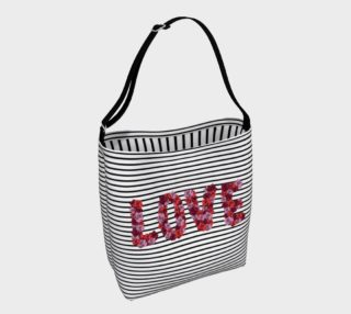 Blooming Love Tote Bag preview