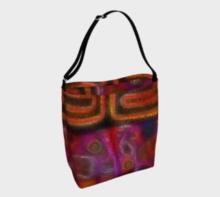 Beautiful native watercolors summer day tote preview