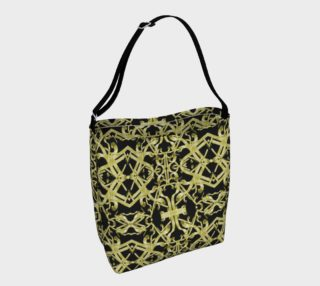 Golden Ornate Intricate Pattern Bag preview