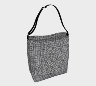 Linear Geometric Pattern Bag preview