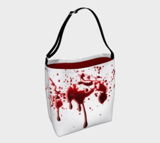 Blood Splatter three day tote bag preview