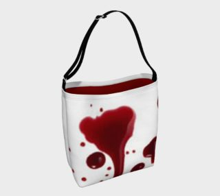 Blood Splatter four day tote bag preview
