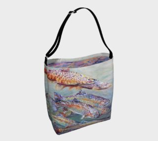 Trout Dreaming Day Tote preview