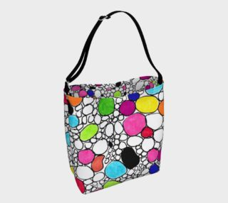 Colored Circles and  Other Shapes day-tote preview