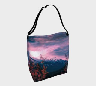 Mystic Mountain Autumn Day Tote preview