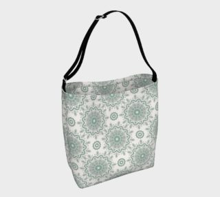 Mystic Mandala Green Day Tote preview