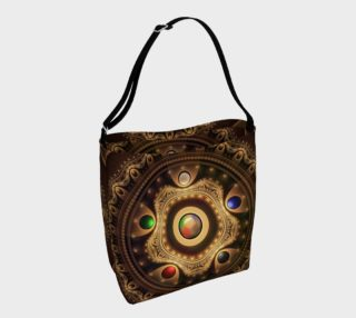 5 Fractal Colors of Magic the Gathering Day Tote Bag preview