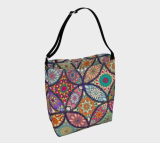 Vibrant Mandalas Day Tote preview