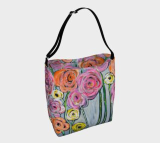 Aperçu de bloom where you are planted day tote